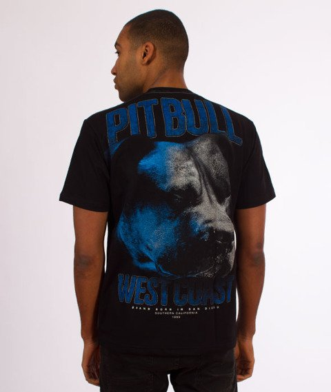 Pit Bull West Coast-Go Hard T-Shirt Czarny