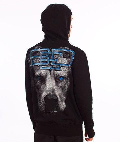 Pit Bull West Coast-Hooded Blue Eyed Devil 18 Bluza Kaptur Czarna