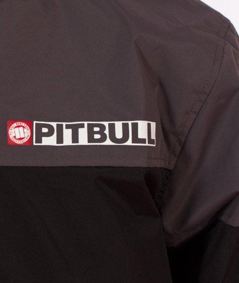 Pit Bull West Coast-Hooded Windbreaker Homelands 2 Kurtka Wiatrówka Black/Anthracite