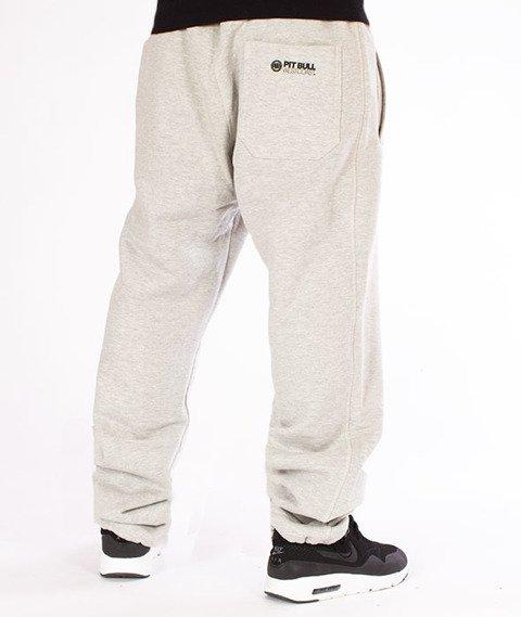 Pit Bull West Coast-Jogging Pants Logo Open End Szare
