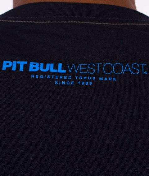 Pit Bull West Coast-Juniper T-Shirt Granatowy