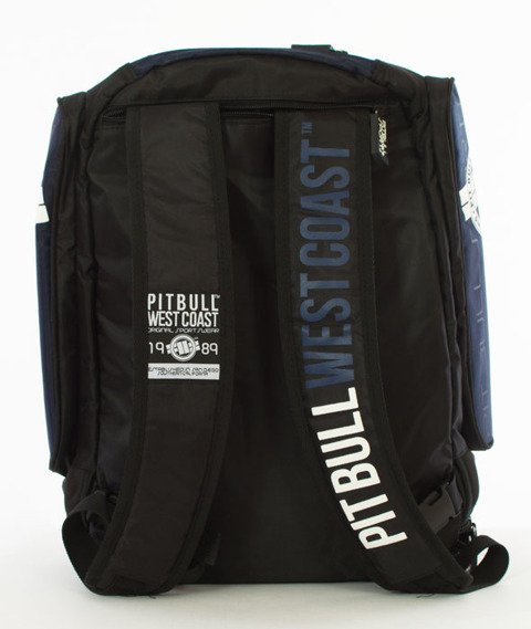 Pit Bull West Coast-Logo Plecak Treningowy Granatowy