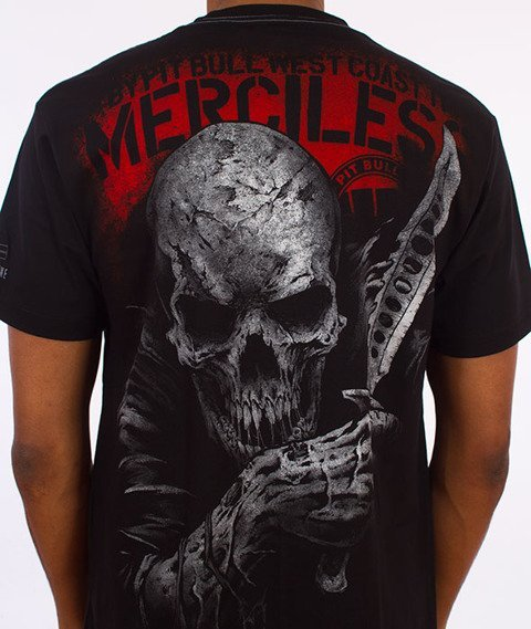 Pit Bull West Coast-Merciless T-Shirt Czarny