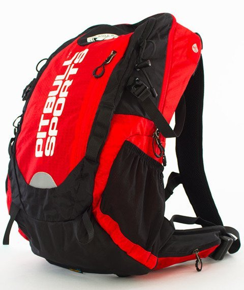 Pit Bull West Coast-PB Sports Backpack Plecak Sportowy Czarny/Czerwony