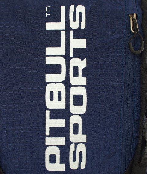 Pit Bull West Coast-PB Sports Backpack Plecak Sportowy Czarny/Granatowy