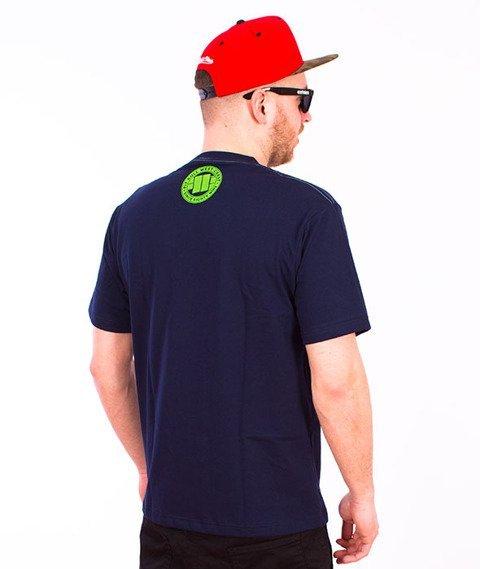 Pit Bull West Coast-Raster Logo T-Shirt Dark Navy