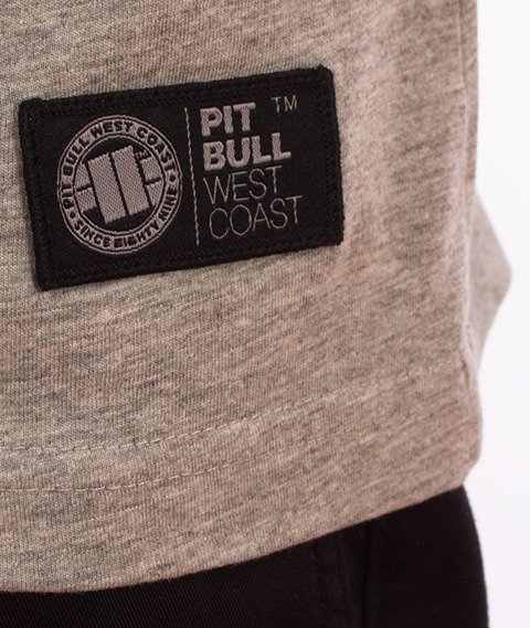 Pit Bull West Coast-Rating Plate T-Shirt Grey