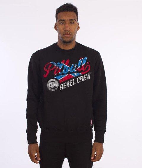 Pit Bull West Coast-Rebel Crew Sweatshirt Crewneck Black