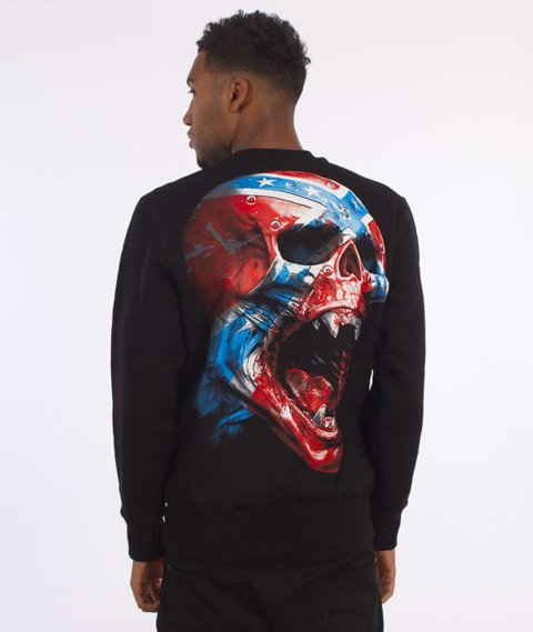 Pit Bull West Coast-Rebel Crew Sweatshirt Crewneck Black