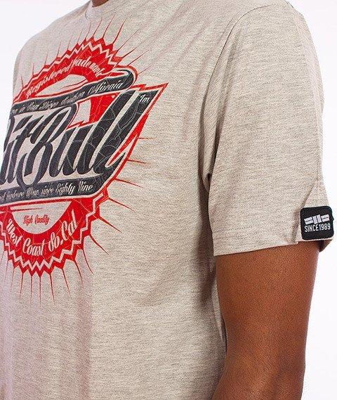 Pit Bull West Coast-Stamp T-Shirt Szary