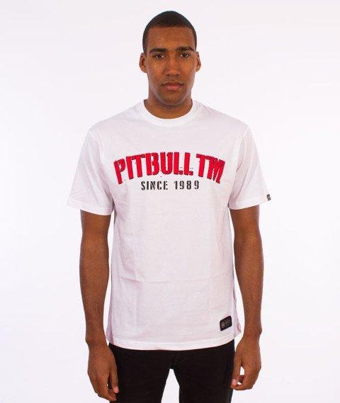 Pit Bull West Coast-Welcome To Gangland T-Shirt Biały