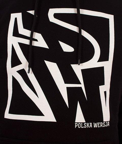 Polska Wersja-PW Do Kwadratu Bluza Kaptur Czarny