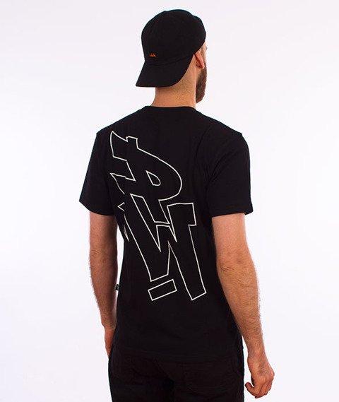 Polska Wersja-PW Outline T-shirt Czarny