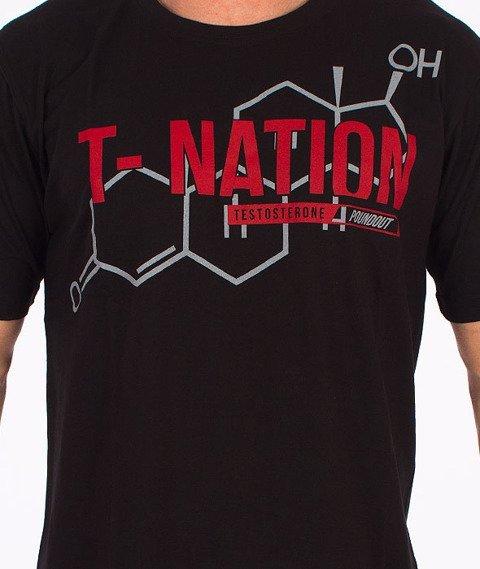 Poundout-Testosterone T-Shirt Czarny