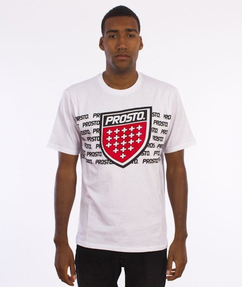 Prosto-Blocks T-Shirt Biały