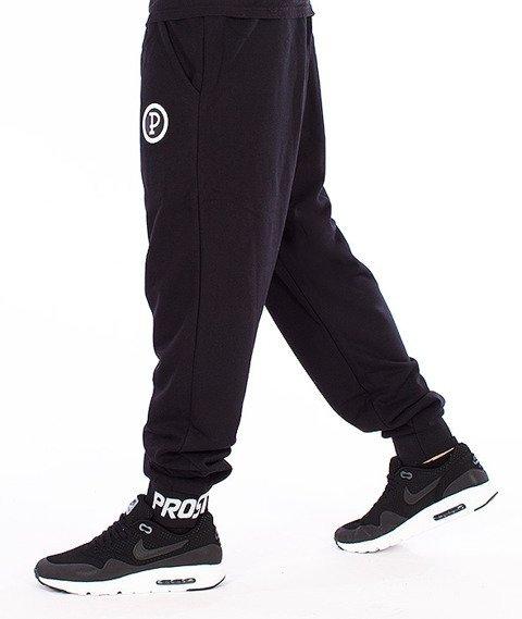 Prosto-Clear Spodnie Dresowe Czarne