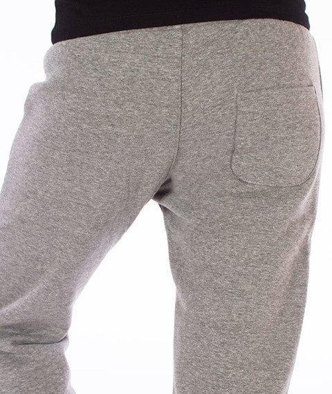 Prosto-Ground Spodnie Dresowe Damskie Szare