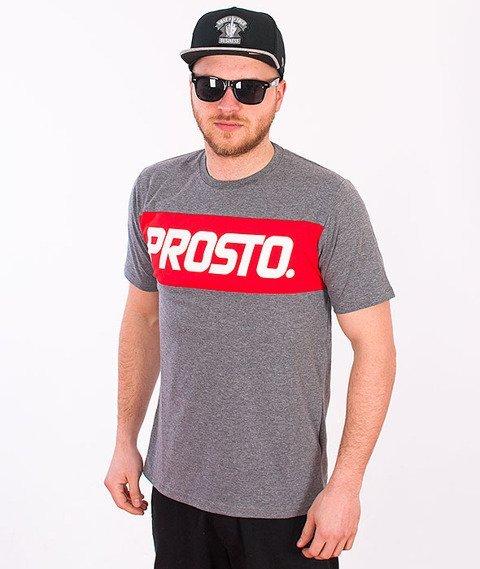 Prosto-KL Basic Levels T-shirt Grey