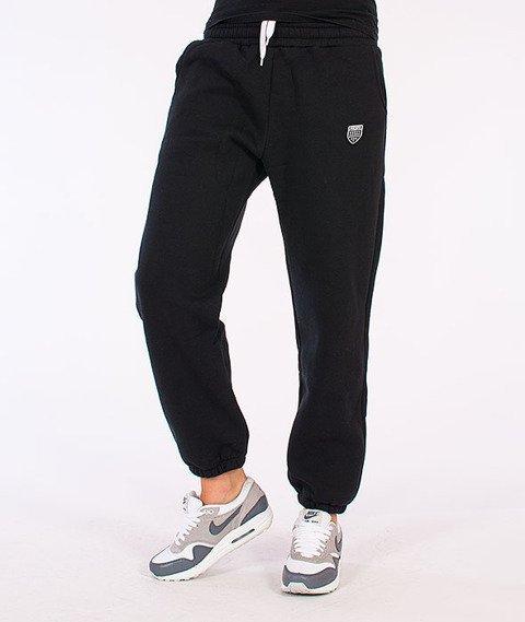 Prosto-KL Basic Spodnie Dresowe Czarne