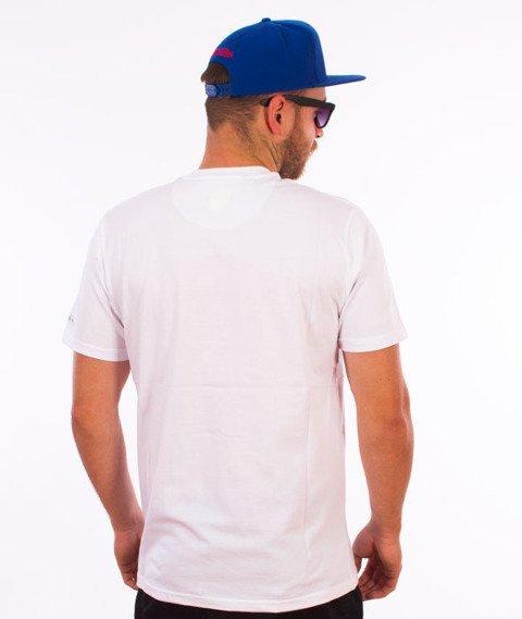Prosto-Layer Cake T-Shirt Biały/Granatowy