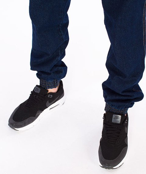 Prosto-Ready Jogger Spodnie Granatowe