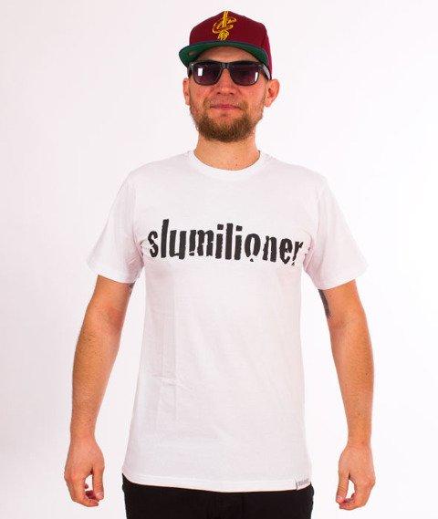 RPS KLASYKA-Slumilioner T-Shirt Biały