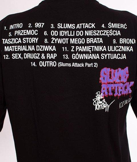 RPS KLASYKA-Slums Attack Vintage Cover T-Shirt Czarny