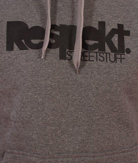 Respekt-Respekt Bluza z Kapturem Grafitowa