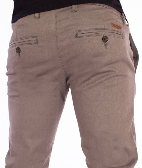 RocaWear-Non Denim Slim Fit Spodnie Grey