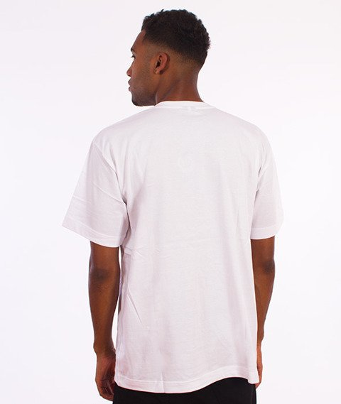 Ryzyko-Shield T-shirt Biały