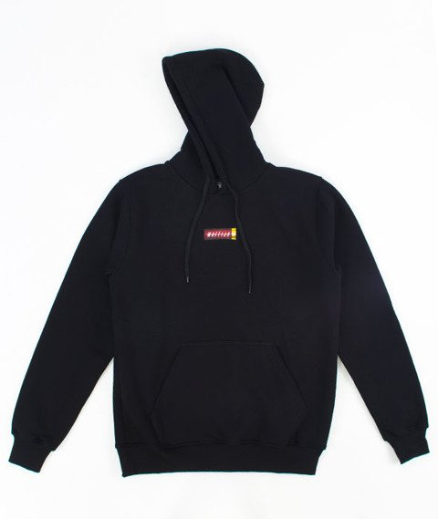 SB Maffija-H8M4 Bluza Kaptur Czarna