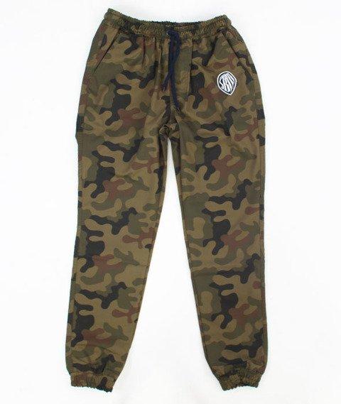 SB Maffija-Jogger Pants SBM Glitcher Spodnie Camo