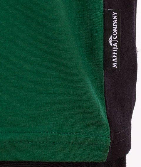 SB Maffija-Stripe T-Shirt Zielony