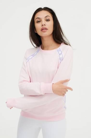 SSG Girls LIGHT COTTON PINK Bluza bez kaptura Różowy