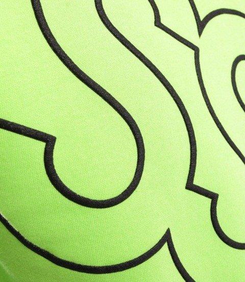Smoke Story PUFF BIG Bluza bez kaptura Neon