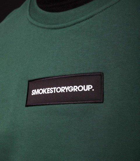 Smoke Story SMALL SMG Bluza bez kaptura Zielony