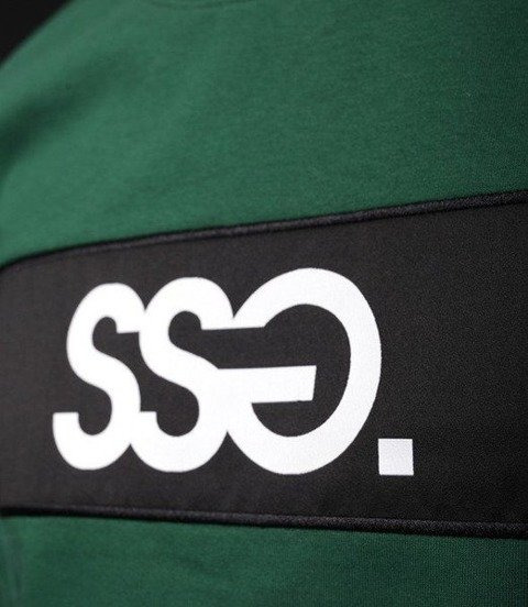 Smoke Story SSG BLOCK T-Shirt Ciemny Zielony