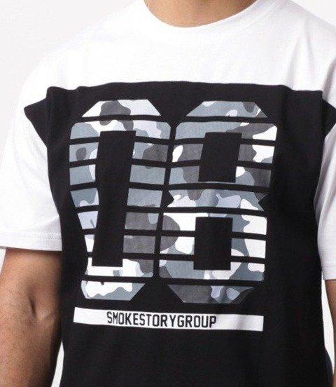 SmokeStory-08 Grey Moro T-Shirt Biała Góra