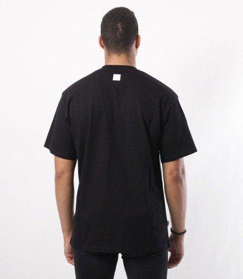 SmokeStory-08 Line T-Shirt Czarny/Zieleń