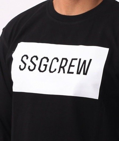 SmokeStory-BOX SSG Crew Longsleeve Czarny