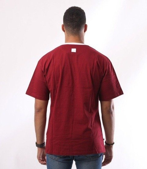 SmokeStory-Belt Classic T-Shirt Bordowy