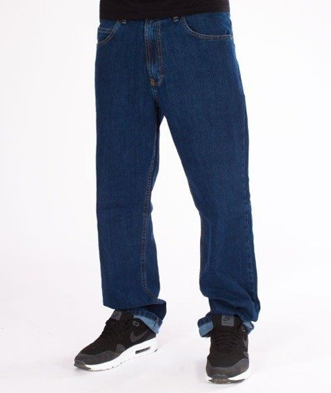 SmokeStory CLASSIC Regular Jeans Spodnie Medium Blue