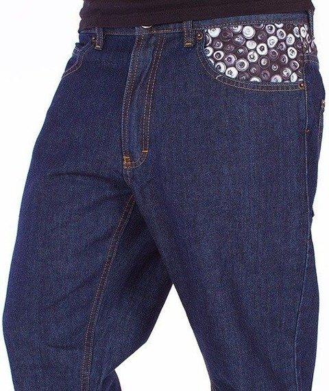 SmokeStory-Cans Slim Jeans Dark Blue