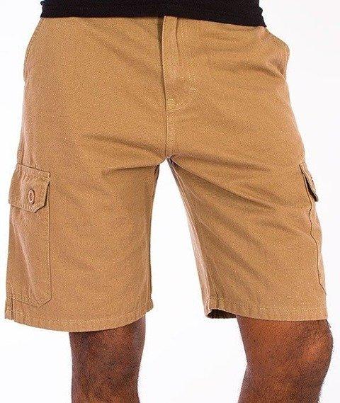 SmokeStory-Cargo Krótkie Spodnie Beżowe