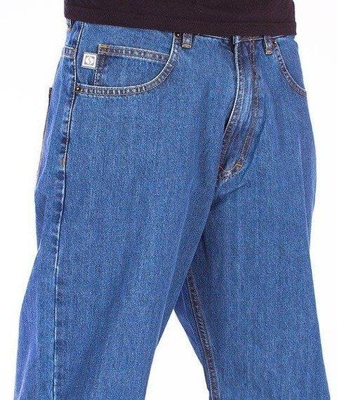 SmokeStory-City Baggy Jeans Light Blue