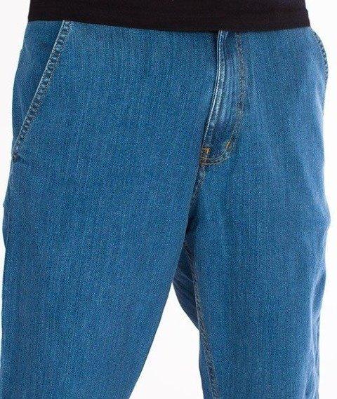 SmokeStory-Classic Jogger Jeans Regular Spodnie Light Blue