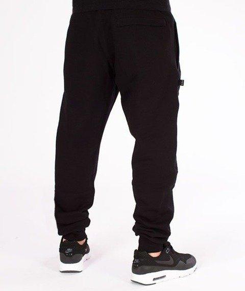 SmokeStory-Classic SSG Slim Spodnie Dresowe Czarne