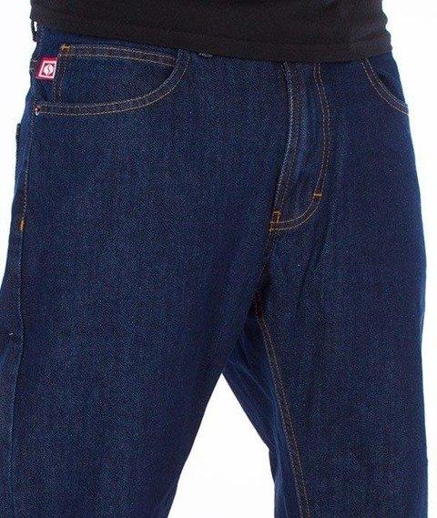 SmokeStory-Classic Slim Jeans Dark Blue