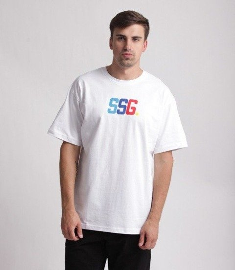 SmokeStory-Color SSG T-Shirt Biały