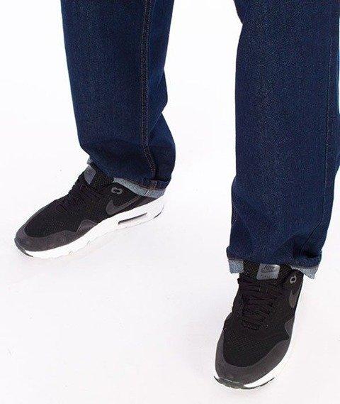 SmokeStory-Colors Regular Jeans Spodnie Dark Blue